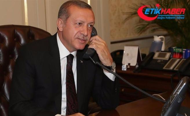Erdoğan, Pakistan Cumhurbaşkanı Hüseyin ile telefonda görüştü