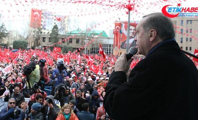 Cumhurbaşkanı Erdoğan: 2020'ye kadar Gümüşhane ve Bayburt'a hizmet verecek havaalanımızı bitireceğiz
