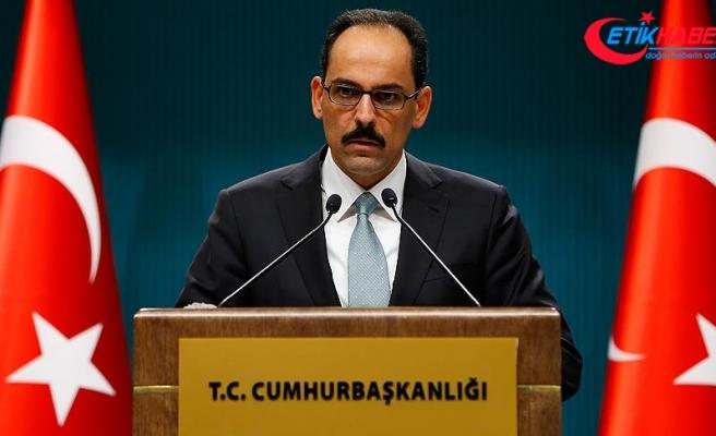 Cumhurbaşkanlığı Sözcüsü Kalın'dan Pentagon ve YPG açıklaması