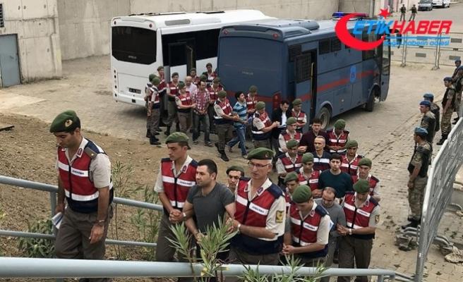 Darbeci albaydan 'Gürültü yapmak için top atışı yaptırdım' savunması