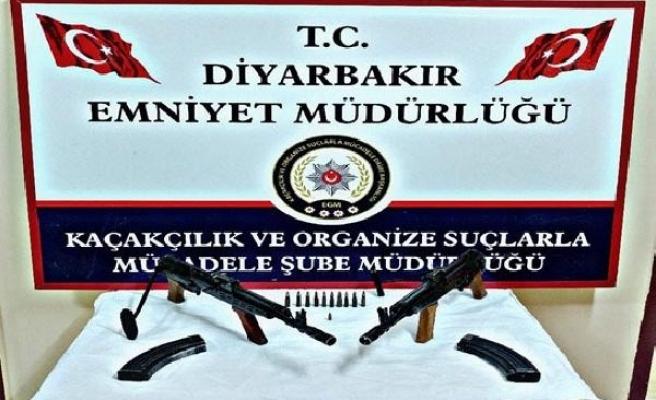 Diyarbakır merkezli 3 ilde kaçak silah operasyonu: 7 gözaltı