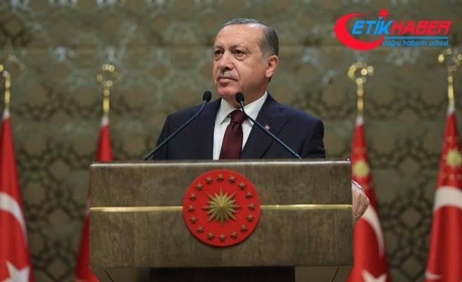 Erdoğan: Milletimizin Gazi'ye hürmeti sonsuzdur
