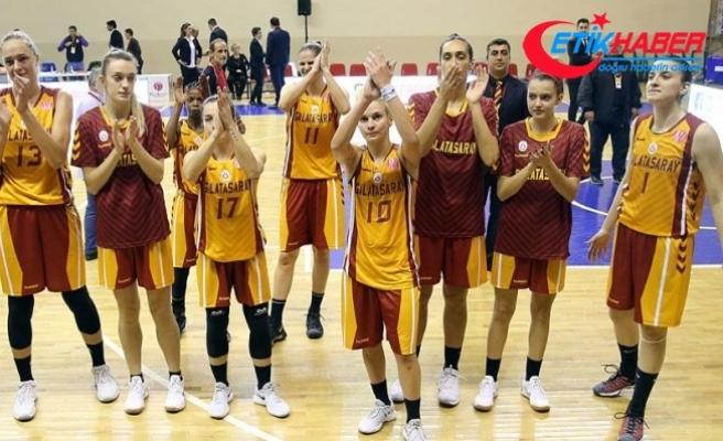 FIBA Kadınlar Avrupa Ligi: Castors Braine: 71 - Galatasaray: 72