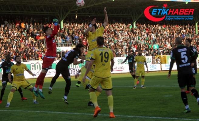 Giresunspor: 0 - MKE Ankaragücü: 1