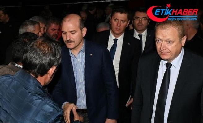 İçişleri Bakanı Soylu şehit ailesini ziyaret etti