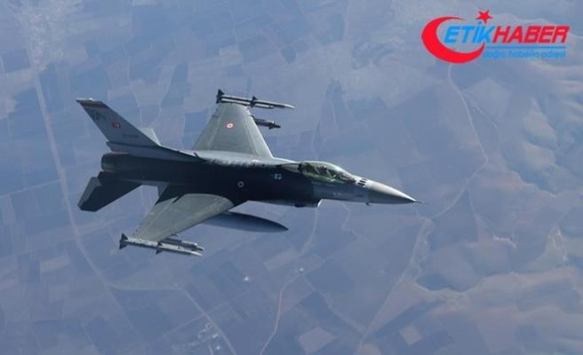 Irak'ın kuzeyine hava harekatı: 3 terörist etkisiz hale getiridi