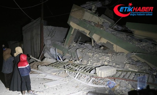 Irak'ta 7,2 büyüklüğünde deprem