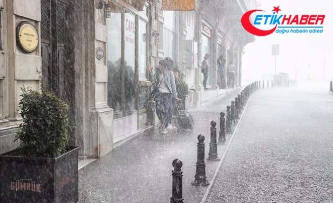 İstanbul'a 20 saatlik yağış geliyor