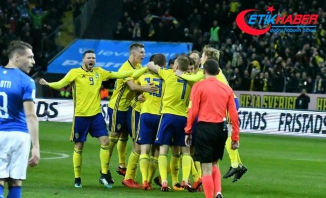 İsveçli futbolcular 'kahraman' ilan edildi