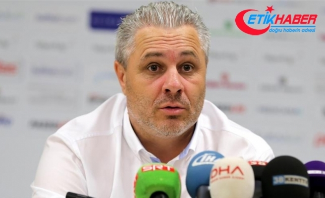 Gaziantep FK Teknik Direktörü Sumudica'dan Galatasaray maçı yorumu
