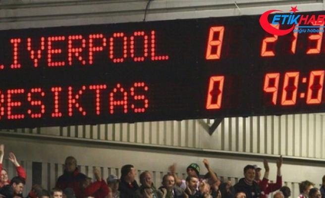 Liverpool, Beşiktaş'ı 8-0 Yendiği Maçı Hatırlattı
