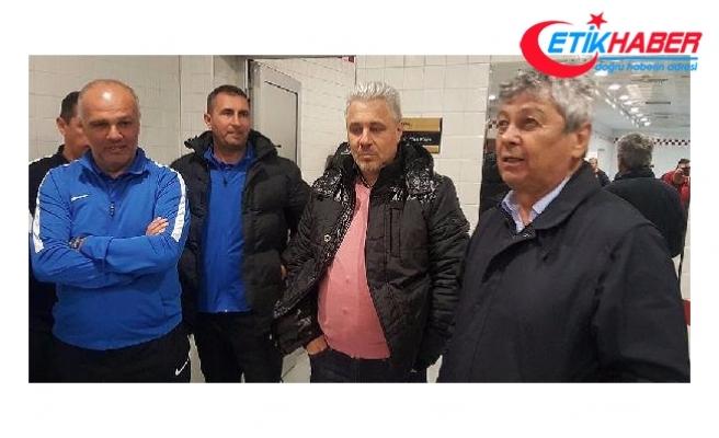 Lucescu, Kayserispor soyunma odasına indi!..