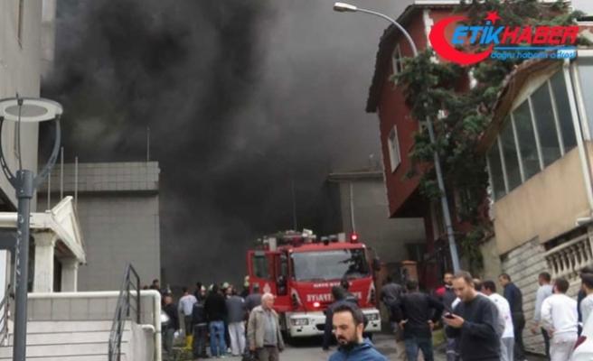 Maltepe'de yangın! Çok sayıda ekip gönderildi
