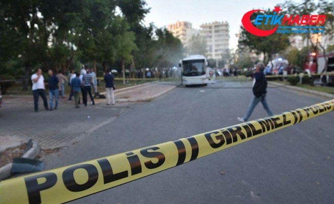 Mersin'de polis servis aracına bombalı saldırıda 16 tutuklama