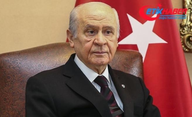 MHP Lideri Bahçeli: Beka giderse dünyamız gider, hayatımız söner