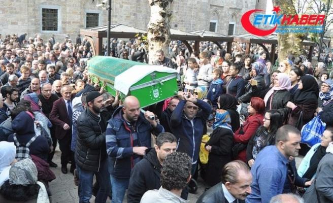 Oyuncu Cem Korkmaz, memleketi Bursa'da toprağa verildi