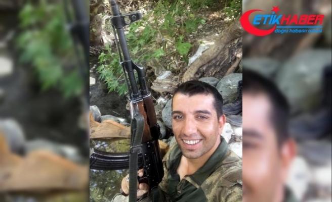 Şehidin Zonguldak'taki baba evine ateş düştü