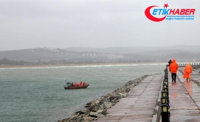 Şile açıklarında kaybolan gemiyi arama çalışması başlatıldı