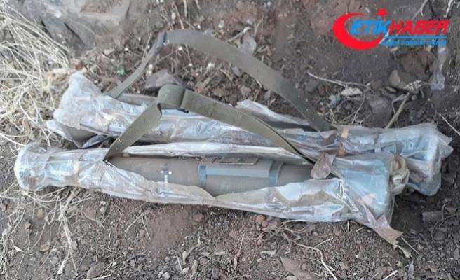Şırnak'ta 2 güdümlü tanksavar füzesi ele geçirildi