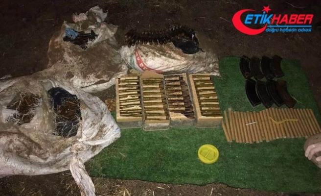 Şırnak'ta teröristlere ait mühimmat ele geçirildi