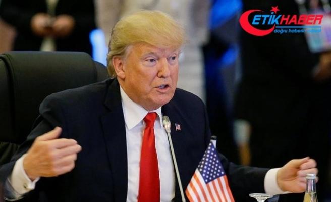 Trump: Uygun vakalarda ölüm cezası da dahil en güçlü cezalar verilmelidir