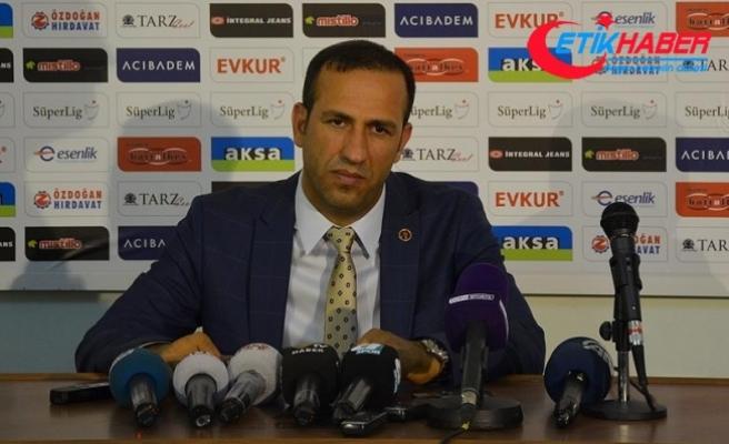 Yeni Malatyaspor Kulübü Başkanı Gevrek: Aldığımız 1 puan çok değerli
