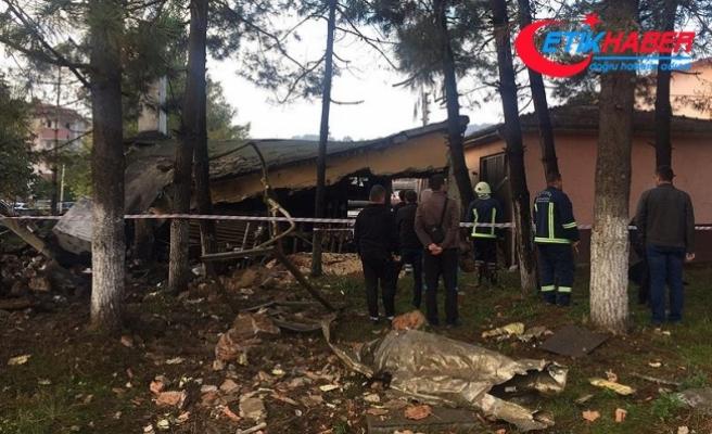 Zonguldak'ta okulun kalorifer kazanında patlama