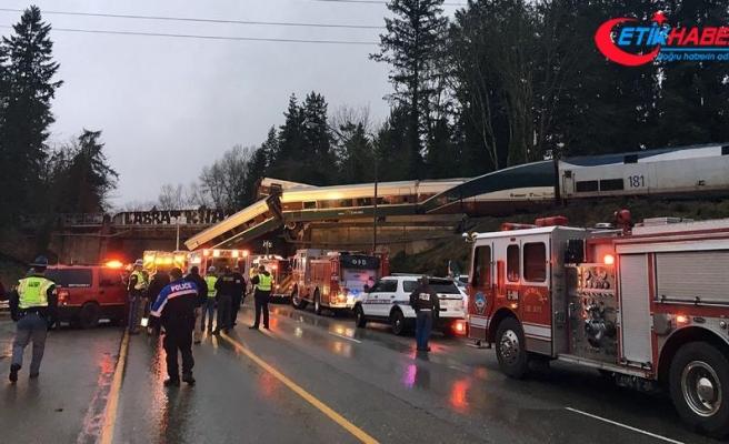 ABD'de tren kazası: 3 ölü, 100'den fazla yaralı