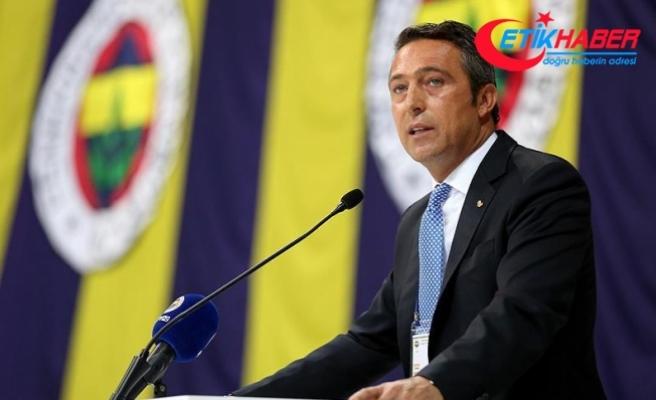 Fenerbahçe Başkan adayı Koç: Zamanı geldiğinde elimi taşın altına koyacağımı söylemiştim