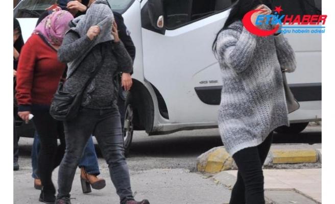 Aydın'da fuhuş operasyonu: 18 gözaltı
