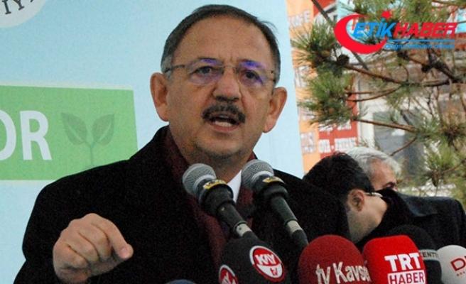 Bakan Özhaseki'yi taşıyan uçak acil iniş yaptı