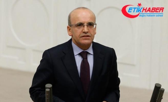 Başbakan Yardımcısı Şimşek: Türkiye şokları geride bıraktı