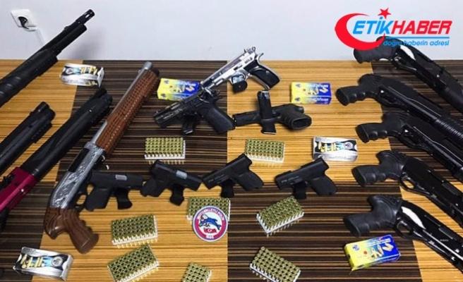 Başkentte kaçak silah operasyonu