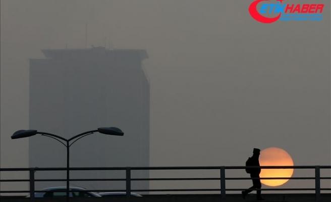 Başkentte görüş mesafesi 50 metrenin altına düştü