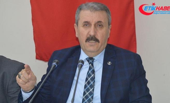 BBP Genel Başkanı Destici: TÜRK-İŞ'in teklifi gözü kapalı imzalansın