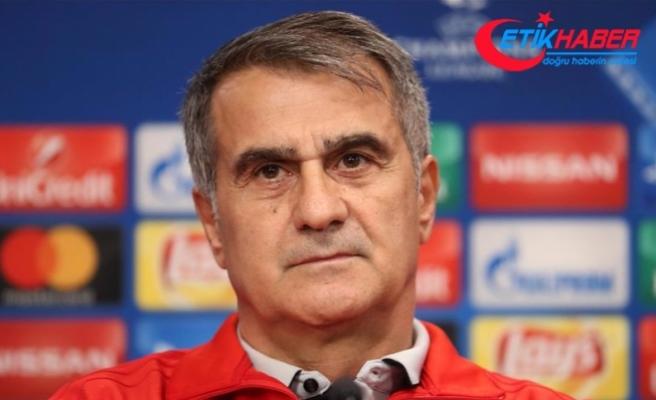 Beşiktaş Teknik Direktörü Güneş: İyi başladık, iyi bitirmek istiyoruz