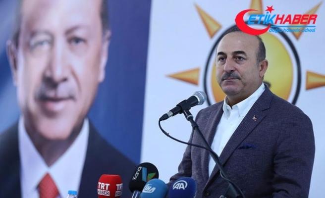 Çavuşoğlu: CHP de bazı partiler de FETÖ'nün güdümündedir