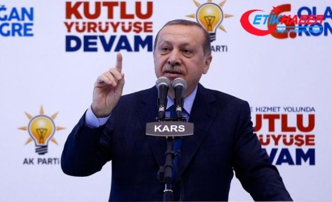 Cumhurbaşkanı Erdoğan: Sanal mahkemeler benim ülkemi mahkum edemez