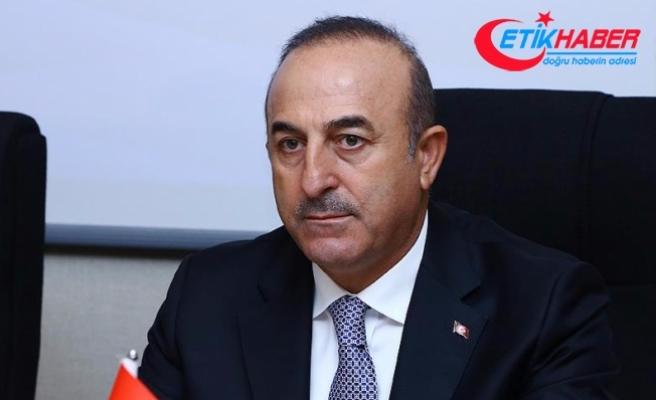 Dışişleri Bakanı Çavuşoğlu: Bölgeye barış yerine kaos gelir