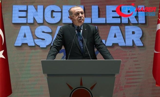 Erdoğan: Yatırım için yurt dışına kaynak götürene sözümüz yok