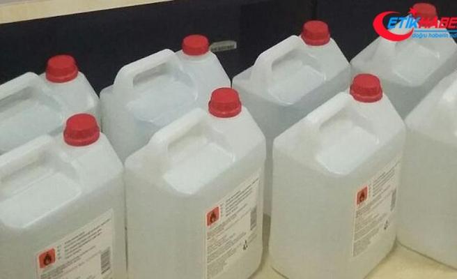 Etil alkol etiketine düzenleme