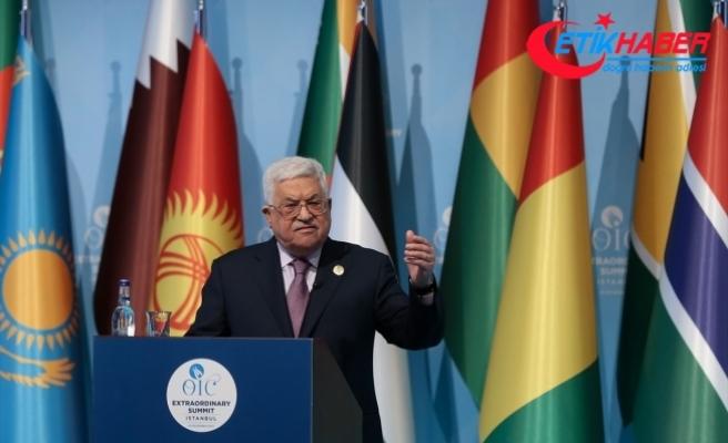Filistin Devlet Başkanı Abbas: Biz içinde insanların ve yaşamın olduğu bir Kudüs istiyoruz