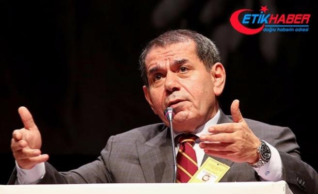Galatasaray Kulübü Başkanı Özbek: Devre arasında temel atma törenini yapacağız