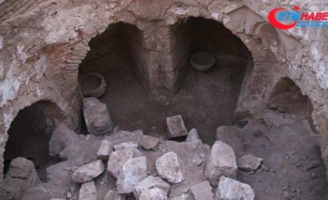 Harran'da 9 asırlık hamam bulundu