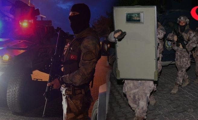 İstanbul'da eylem hazırlığındaki DEAŞ'lılara operasyon