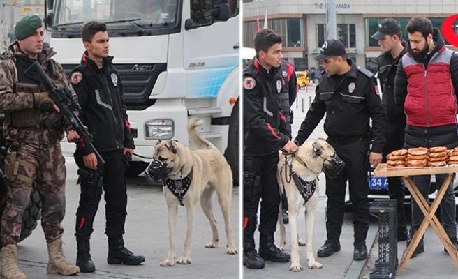 İstanbul'da Yılbaşında 215 Kişi Gözaltına Alındı