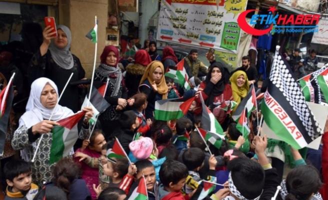 Lübnan'da ABD'nin Kudüs kararı protesto edildi