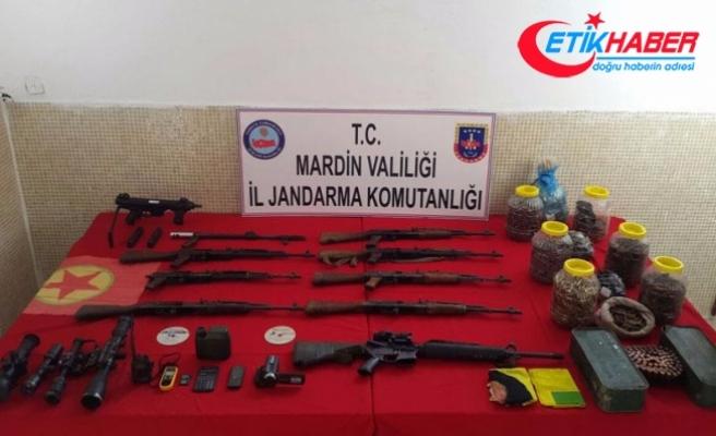 Mardin'de çok sayıda mühimmat ele geçirildi