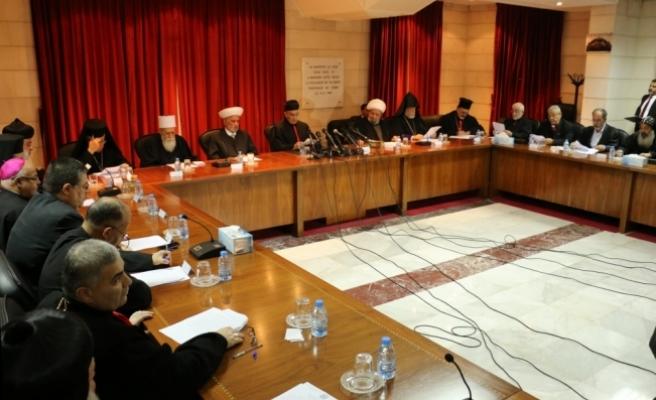 Lübnan'daki Müslüman ve Hristiyan din adamlarından Kudüs Zirvesi