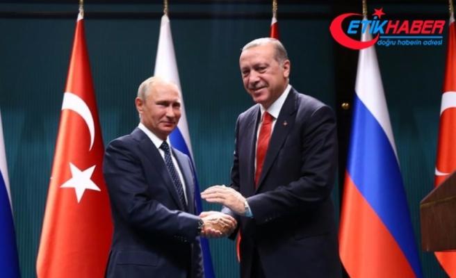 Rusya Devlet Başkanı Putin Ankara'ya geliyor